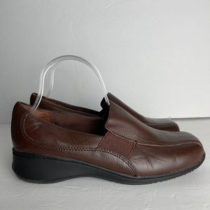 Cobbie Cuddlers Loafer Shoes Size 9W Leather Upper